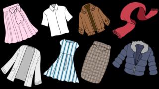洋服のイラストイメージ