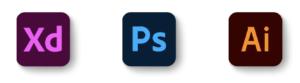 Adobe_XD&Photoshop&Illustrator_icon