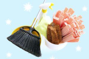 お掃除道具の画像