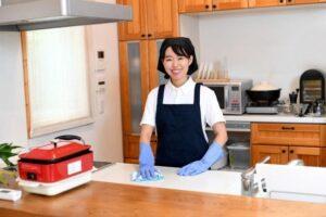 掃除代行の女性イメージ画像