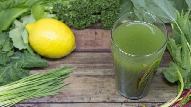 レモンと青汁